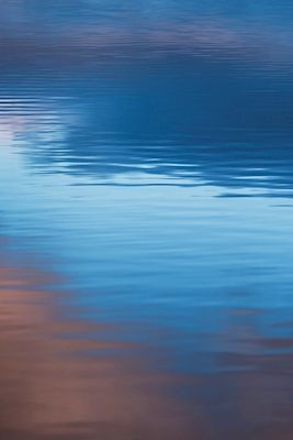 Abstract photograph of water, taken by Ylva Wikström. Available as poster and laminated picture at printler.com, the marketplace for photo art.