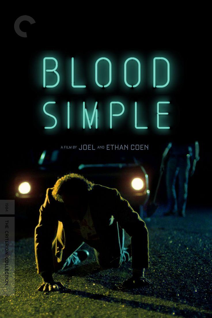 Blood Simple Movie Poster - John Getz, Frances McDormand, Dan Hedaya… -Watch Free Latest Movies Online on Moive365.