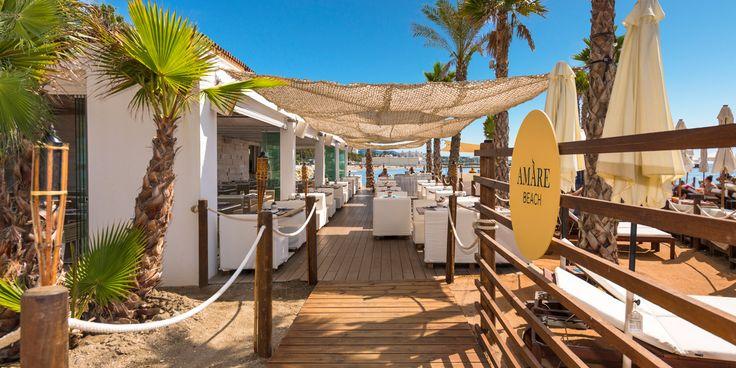 Entrada al Amare Beach - Amare Marbella Hotel