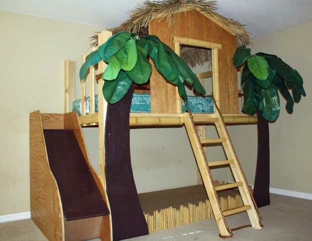 Hmm.. a Slide??  I may have just solved my issue w/ climbing DOWN from a loft! :)
