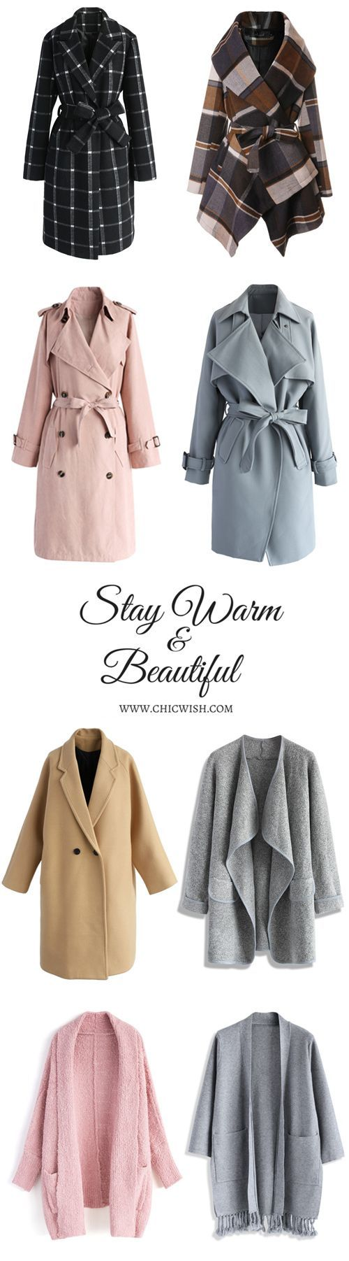 Discover more winter coats at www.chicwish.com/