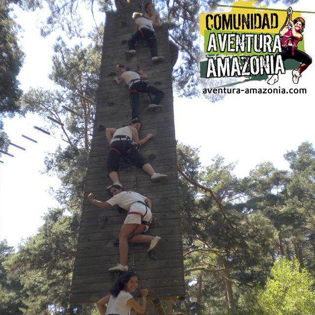 Emoción y adrenalina en plena naturaleza en los parques http://aventura-amazonia