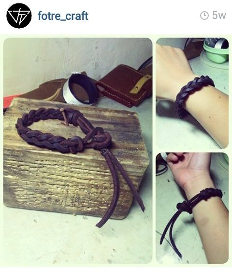 Bracelet Leather Good