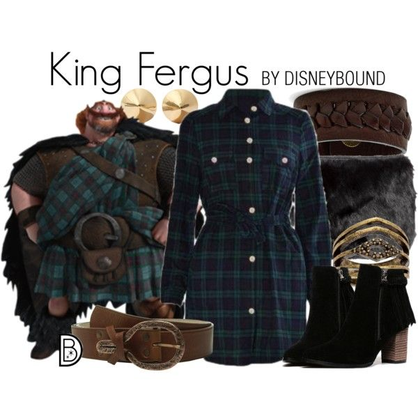 Disney Bound - King Fergus