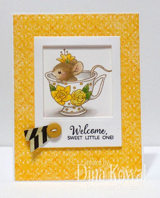 Dina Kowal Creative: Impression Obsession DT Challenge: Animal Friends