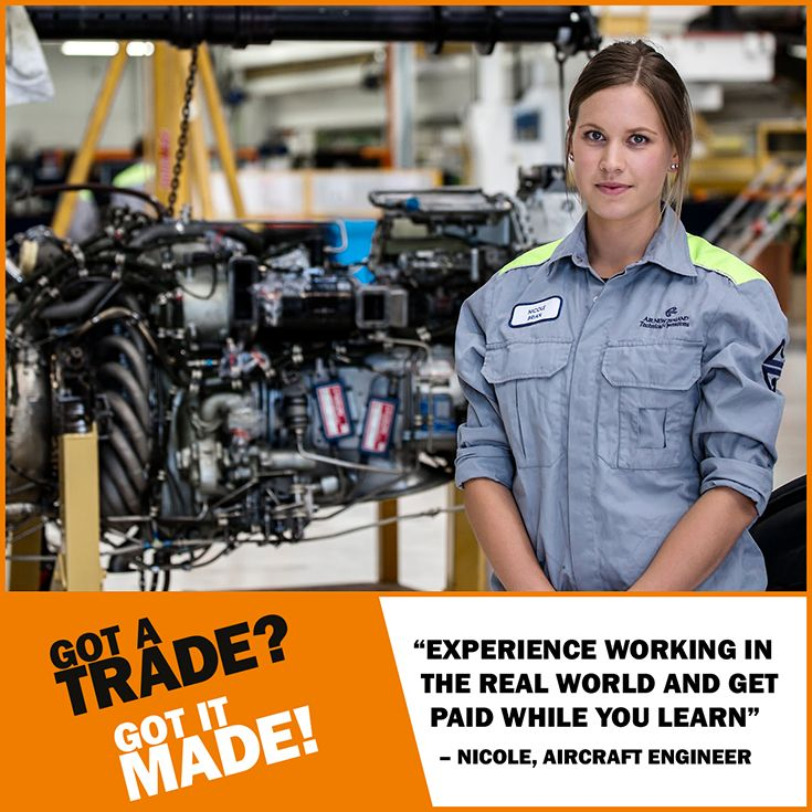 You learn ON THE #JOB, not just on paper. Experience real world #learning... What are you waiting for? #GotATrade