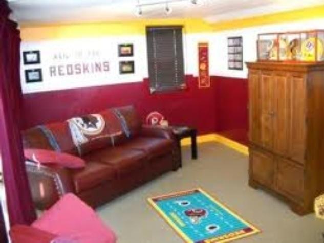 Redskins Room J J S Man Cave Pinterest
