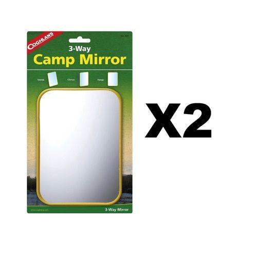 Coghlan's 3-Way Camp Mirror (2-Pack)