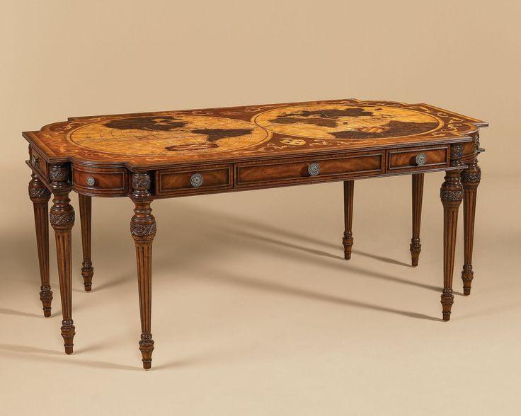54 best furnitureland south images on pinterest jack oconnell aged regency desk gumiabroncs Image collections