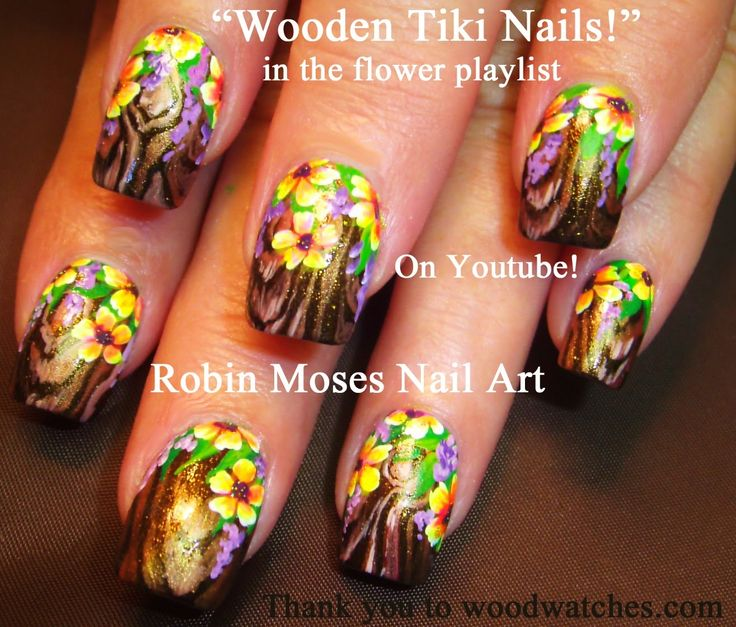 """wood nails"" ""wooden nails"" ""nail art"" ""tree nail art"" ""tiki nails"" ""wood watches"" ""wooden nail art"" ""painting wood"" ""wood nail technique"" ""wood nail art"" ""tree nail art"" tutorial design woodwatches"