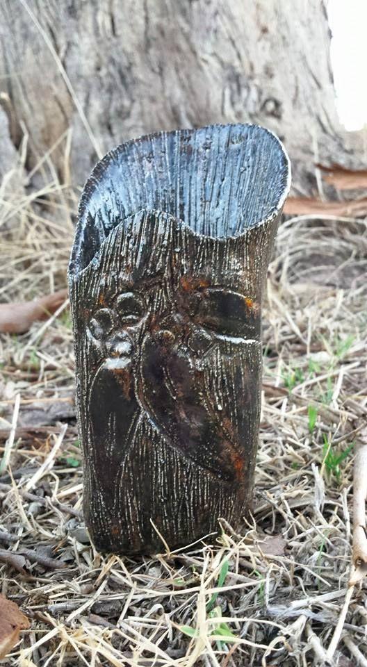 Commission Piece - Eucalyptus Vase