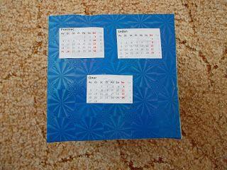 Život s DIY: Recyklo kalendář