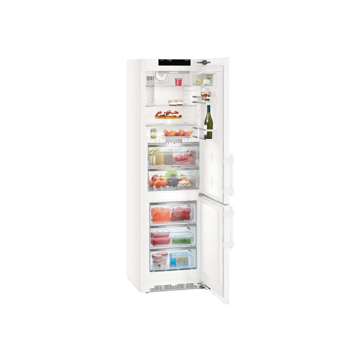 LIEBHERR CBNP 4858 - BluPerformance, Premium, A+++ , objem chladničky 146 l., BioFresh 97 l., objem mrazničky 101 l., 3 zásuvky, ventilátor.