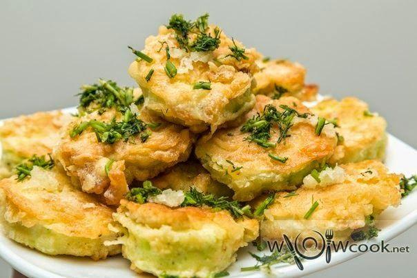 Шустрый повар.: Кабачки жареные в кляре
