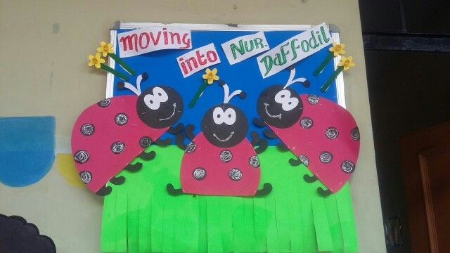 Welcome board for new kids