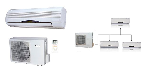 Diferencias entre aire acondicionado #split y aire acondicionado #multisplit. #mueblesarria #sevilla #cordoba