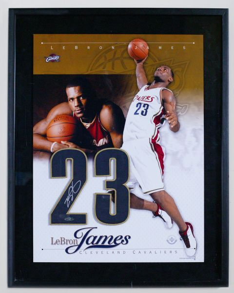 Up4Auction - LeBron James Autographed 2003 Rookie Year Numbers #UDA #UDNation