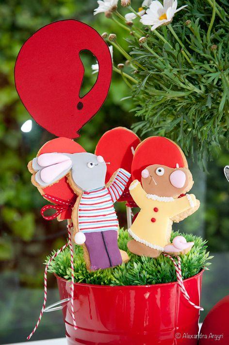 Ο Τικ και η Τέλα με το κόκκινο μπαλόνι