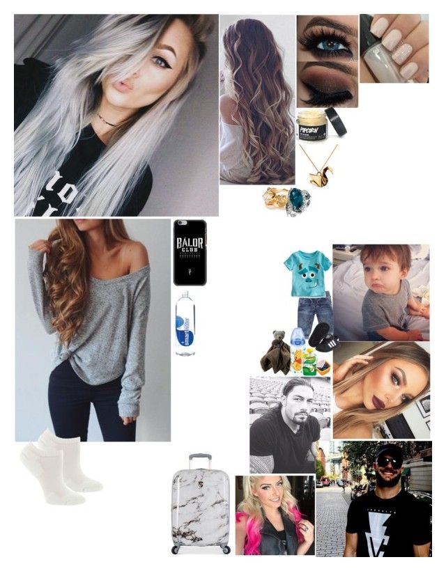 """Spilling beans about the surgery -Rebel"" by bvblunaticfringe ❤ liked on Polyvore featuring Fox River, Heys, WWE, Origami Jewellery, LE VIAN, INC International Concepts, adidas and Disney"