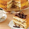WOW!!! Two irresistible desserts (tiramisu and #cheesecake) are combined for one ultimate indulgence in this layer cake made with coffee-covered Italian ladyfingers and a luscious mascarpone and cream cheese base.