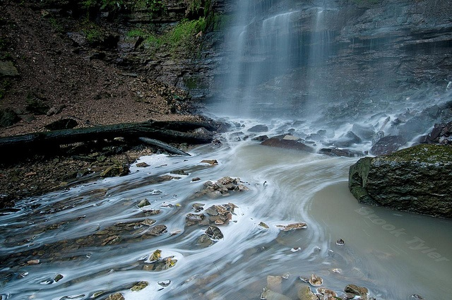 Tiffany Falls, Niagara Escarpment, Hamilton, Ontario | by Thankful!, via Flickr