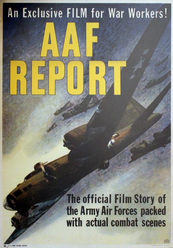 O To Ww Bing Com1 Microsoft W: US WW II...AAF Report WWII £250.00 Original Vintage World