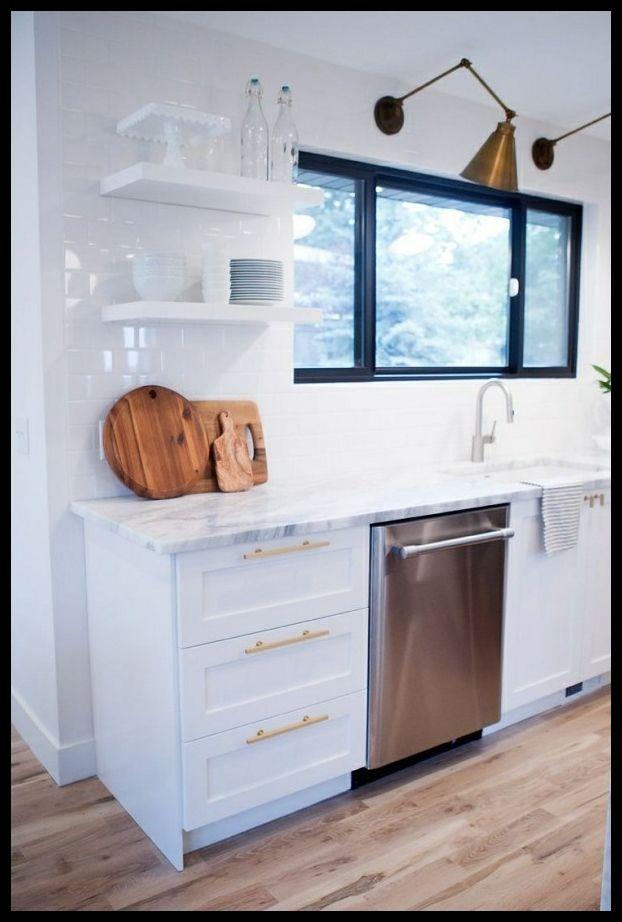 Kuchenoberschranke Und Regale Fur Minimalistische Ikea Ve Evler