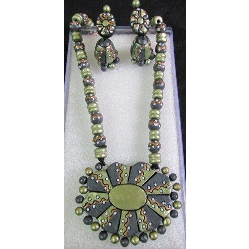 Terracotta Jewellery - Online Shopping for Necklaces by Krishitas