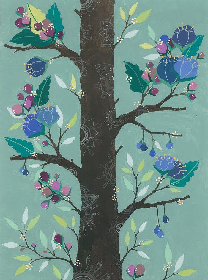 Holiday Watercolors (and More) by Ana Victoria Calderon