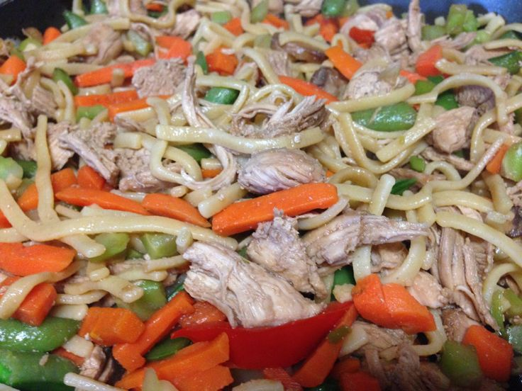 Healthy Chicken Lo-Mein - 21 Day Fix Approved