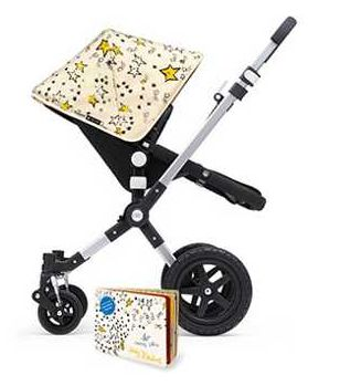 New Bugaboo/Andy Warhol collection: So Many Stars canopy fabric based on his illustrations. A favorite.