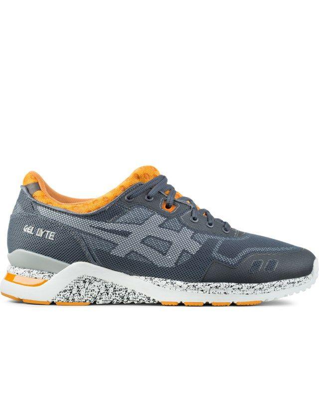 ASICS Grey/White Gel Lyte Evo Sneakers