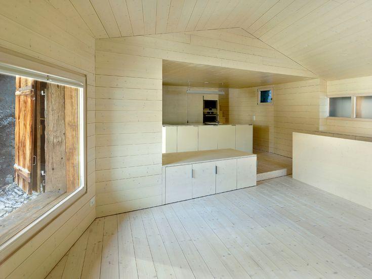 maison cambolin, albinen, transforamtion