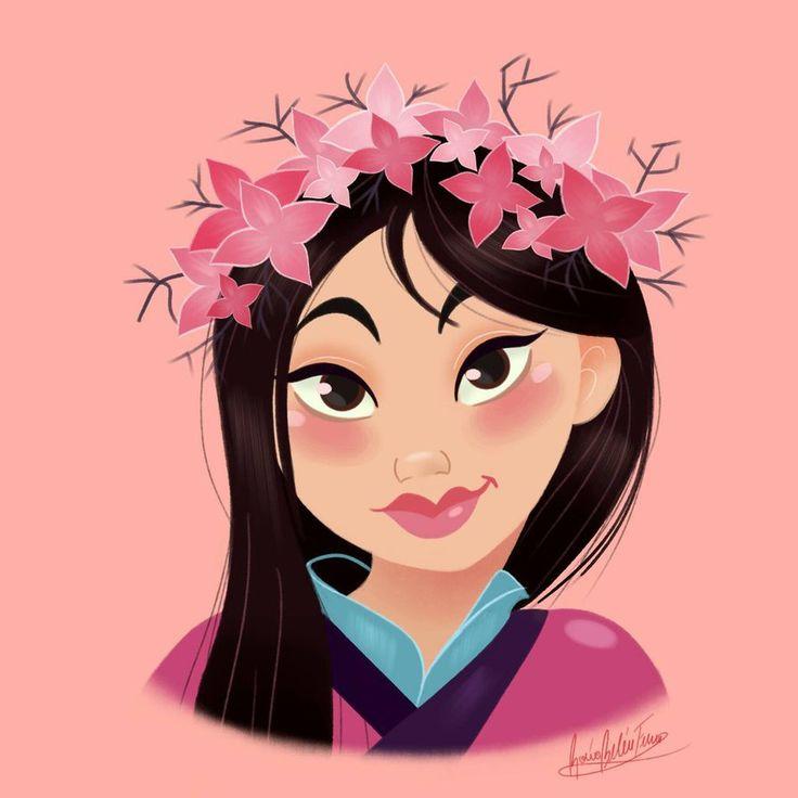 Mulan Flower Crown by princessbeautycase on DeviantArt