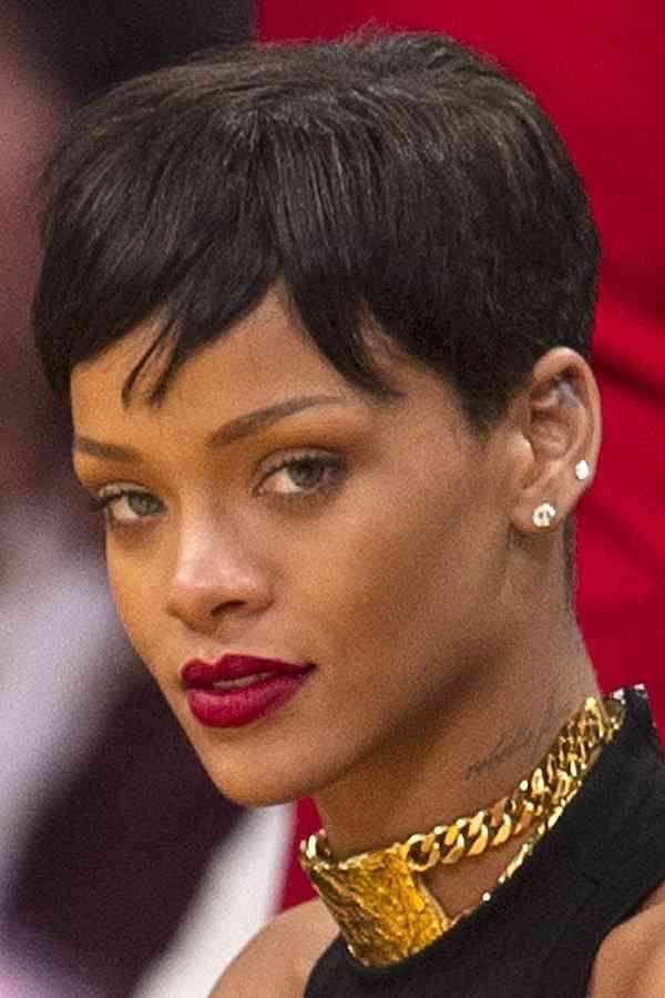 22 Ja Wirklich Bilder Of Rihanna Frisur Kurz Bilder Frisur Kurz Rihanna Wirklich Entspannte Frisuren Haar Styling Promi Frisuren