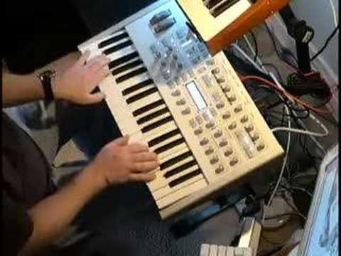 oboe hs - trompet uler keybdwizrd - Access Virus TI Demo #5 (stereo version)