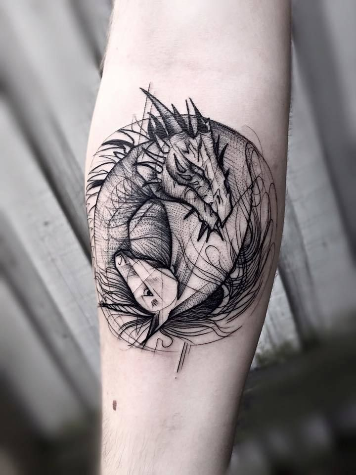 Beautiful Blackwork Tattoos By Frank Carrilho | Tattoo Art ...