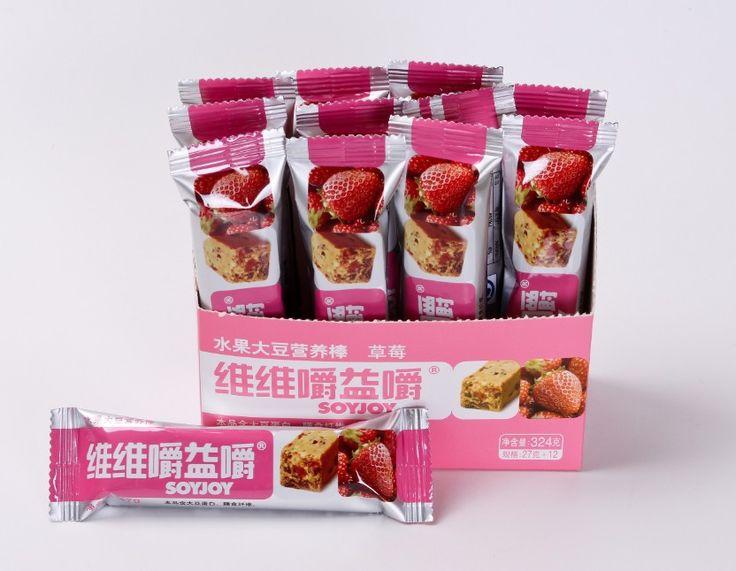 Health Low- GI Snack Teatime Energy SOYJOY Strawberry Fruit Soybean Nutrition Bar, View soy biscuit, V V Product Details from V.V Food & Beverage Co., Ltd. on Alibaba.com