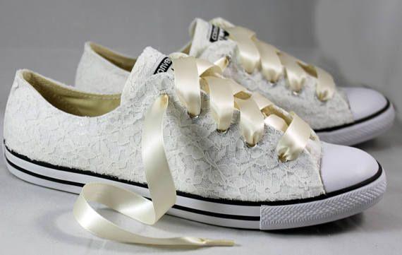 Wedding tennis shoes, Wedding converse