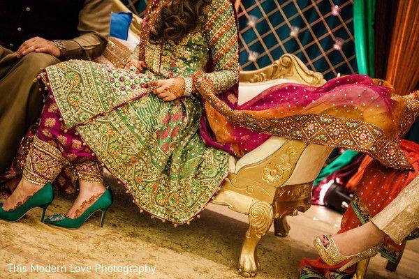 How stunning is this bride's dress by Farah Talib Aziz!