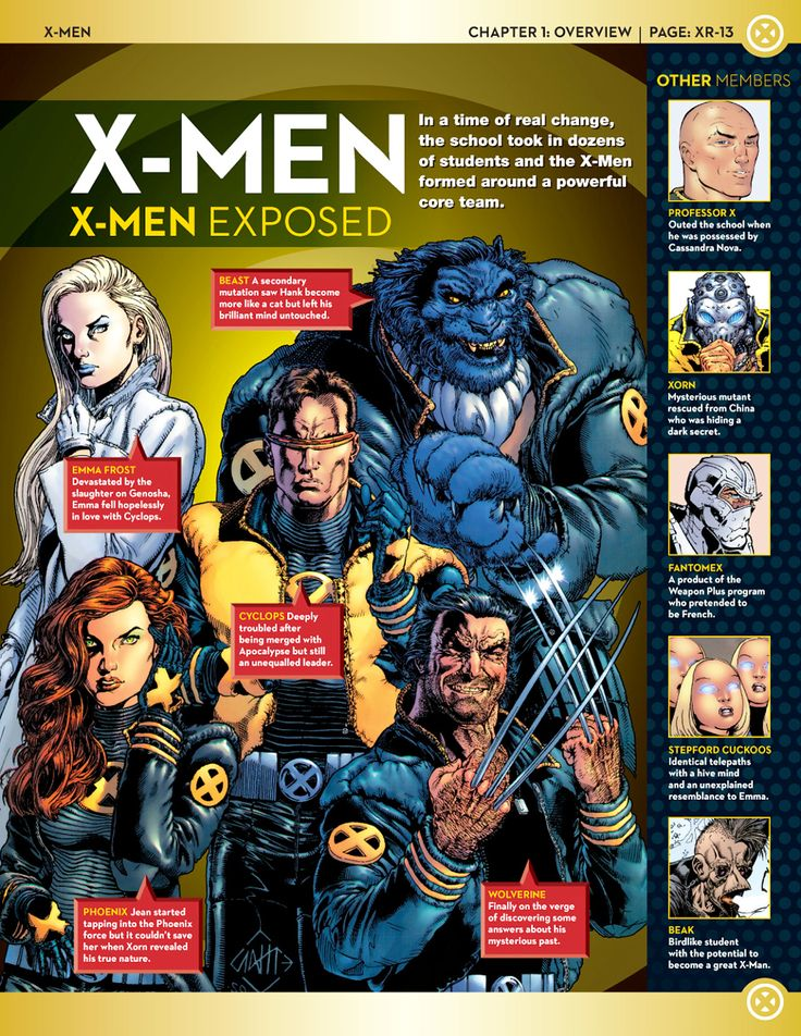 Uncanny X-Men: X-Men Lineups: 2000s Part 2 (New X-Men)