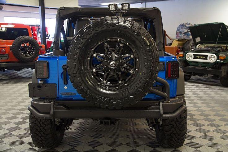 2016 Jeep Wrangler Sport Unlimited Hydro Blue in 2020