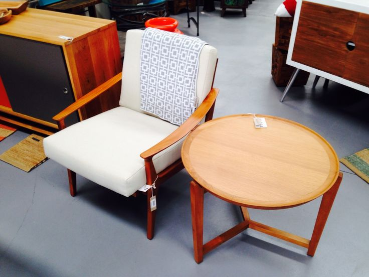Amazing Larson chair and side table at Easterly
