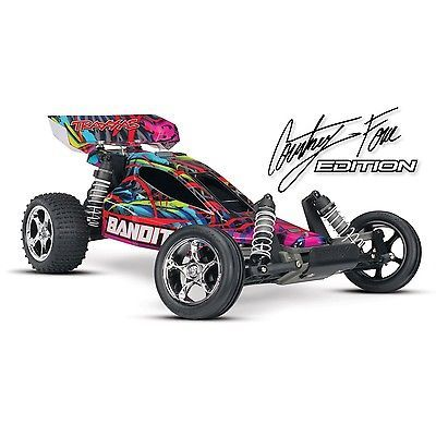 Price - $197.51. Traxxas RC 1/10 Bandit Extreme Buggy Courtney Force Edition Car (TRA240541T6) ( Brand - Horizon Hobby, MPN - See Title, UPC - Does not apply    )