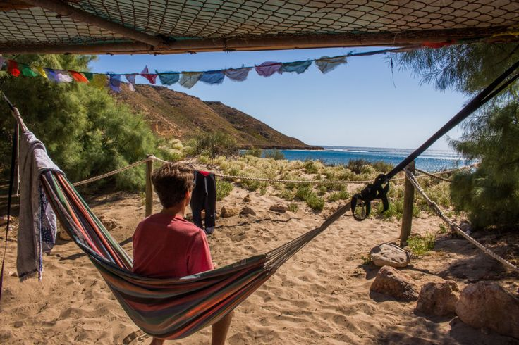 Swing the day away in remote // Red Bluff Australia / Chantae Was Here