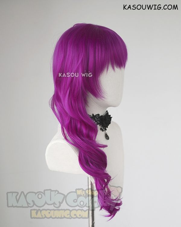 Pin by Kasou Wig on character cosplay wigs | Long curly ...