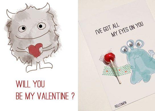 Toll Karten Zum Valentinstag (Printable) | DIY LOVE