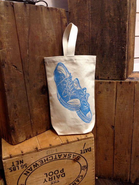 Tote Bag Shoe bag Gift Bag by BrindyLinens on Etsy, $25.00