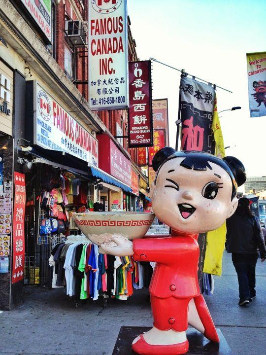 Aqui também tem Chinatown...