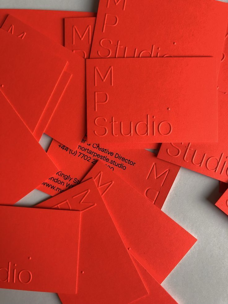 Business Cards Printed By Dot Studio London Embossing Embossedcards Emboss Visit C Graphic Design Business Card Printing Business Cards Red Business Cards